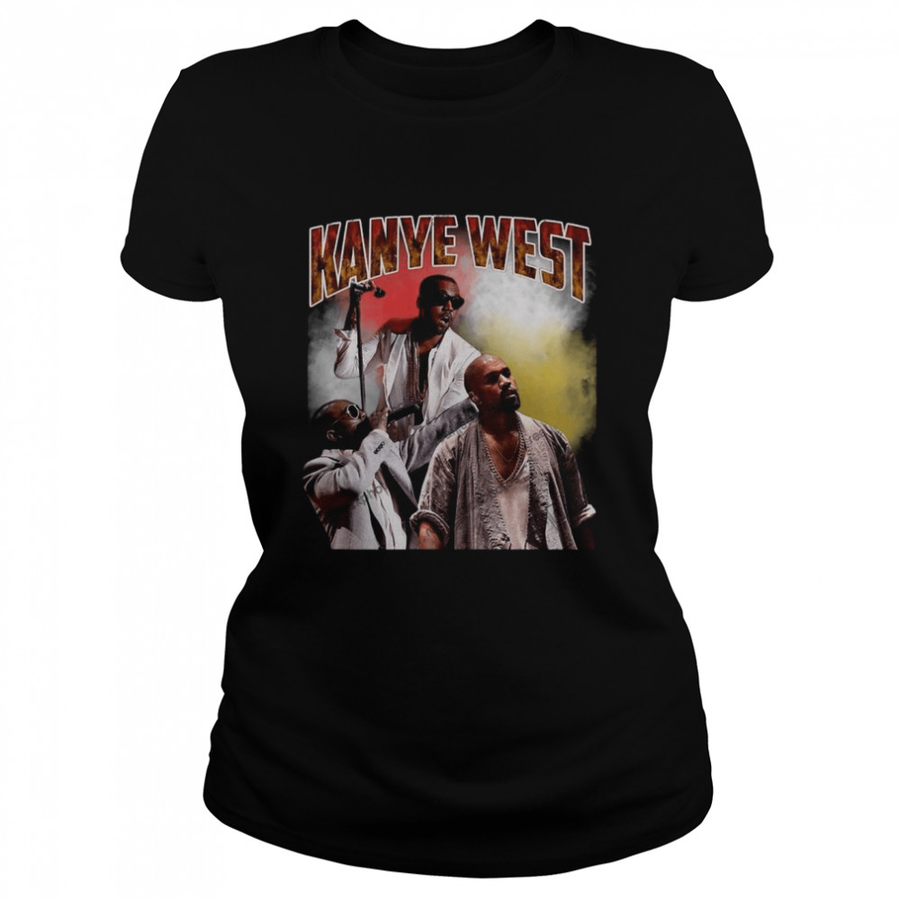 Kanye West Hip Hop Rap Vintage 90s  Classic Women's T-shirt