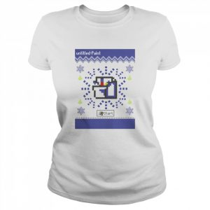 Microsoft Ms Paint Ugly Christmas  Classic Women's T-shirt