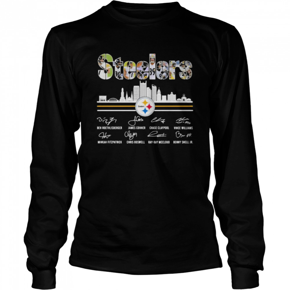 Pittsburgh Steelers Signature City New York  Long Sleeved T-shirt