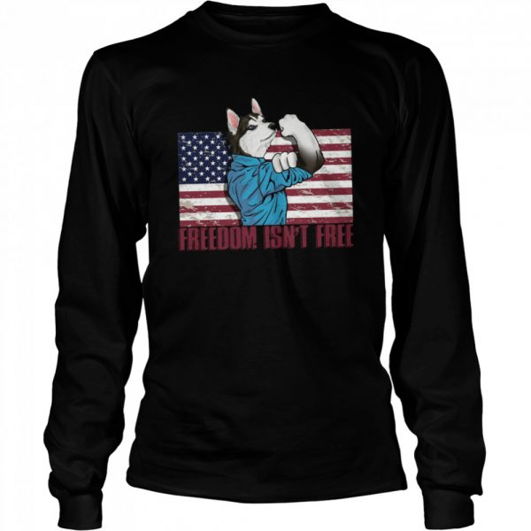 Wolf Freedom Isnt  Long Sleeved T-shirt