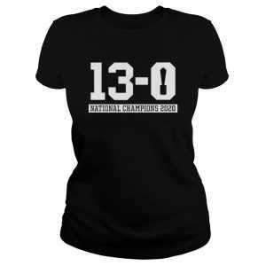13 0 Alabama National Champions 2021  Classic Women's T-shirt