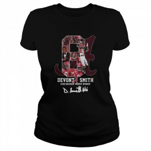 6 Devonta Smith 2020 Heisman Trophy WInner Signature  Classic Women's T-shirt