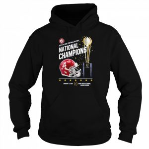 Alabama Crimson Tide 2021 college football playoff National Champions Alabama 52 Ohio State 24  Unisex Hoodie