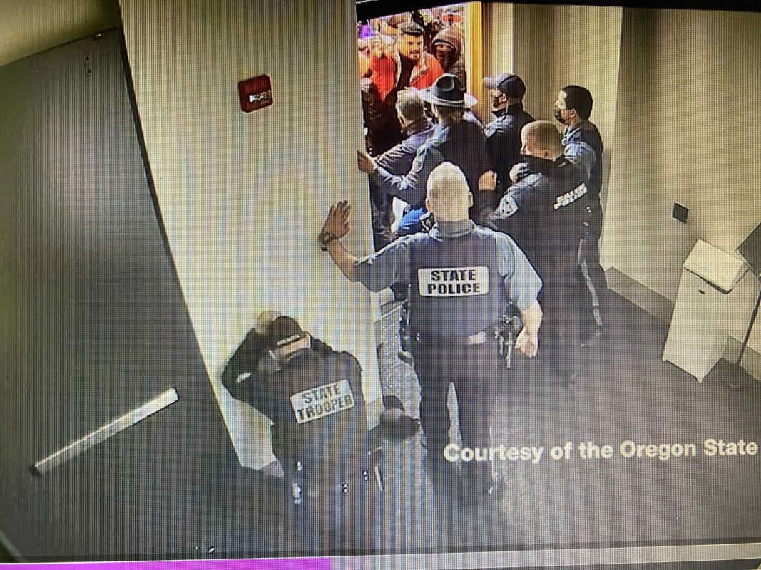At least 3 men from Oregon protest appear to have joined insurrection at U.S. Capitol