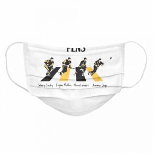 The Pittsburgh Penguins Sidney Crosby Evgeni Malkin Abbey Road  Cloth Face Mask