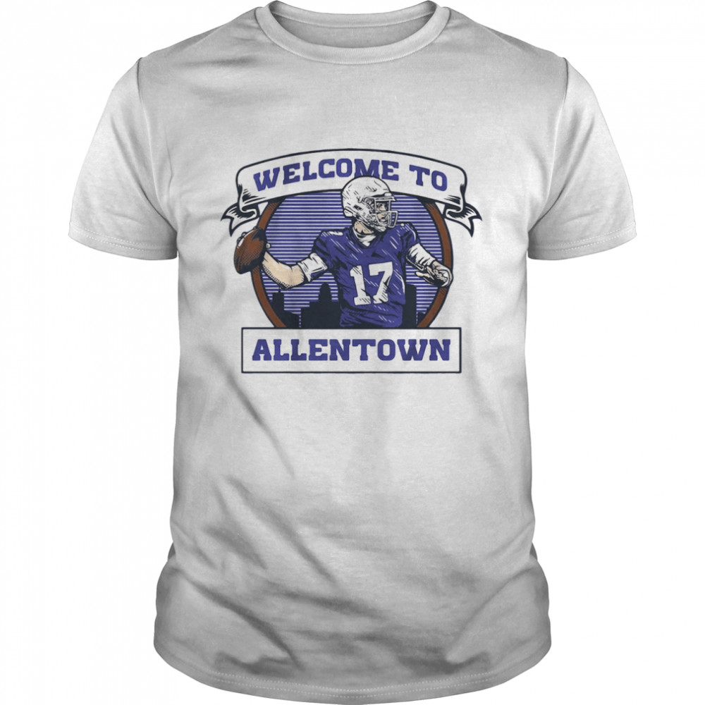 Welcome to Allentown  Classic Men's T-shirt