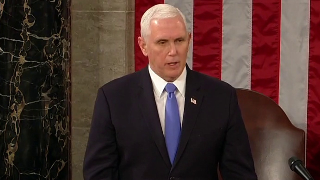 Chris Wallace Mike Pence chose Constitution over Trump by not rejecting electors