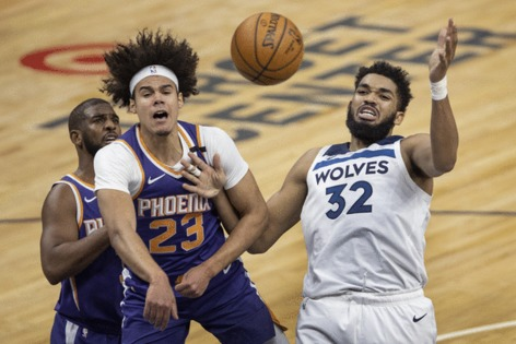 New coach Chris Finch's first home game with Timberwolves has old result with 118-99 loss to Suns