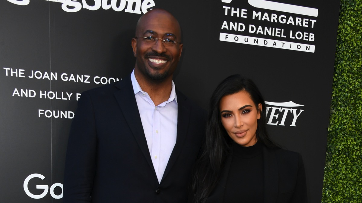 Kim Kardashian is rumored to be dating CNN's Van Jones
