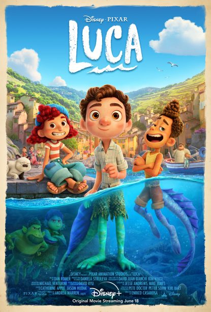 Disney and Pixar's Original Feature Film 'Luca' Reveals All-New Trailer and Poster