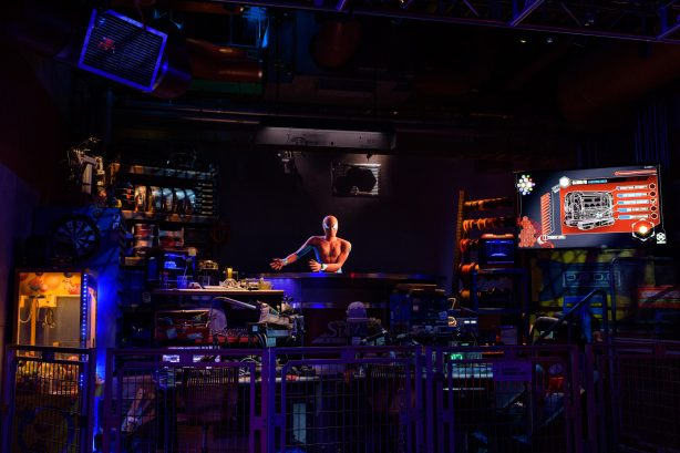 Disney Develops New Spider-Man Attraction Using Technology that Empowers Guests to Discover Web-Slinging Super Powers