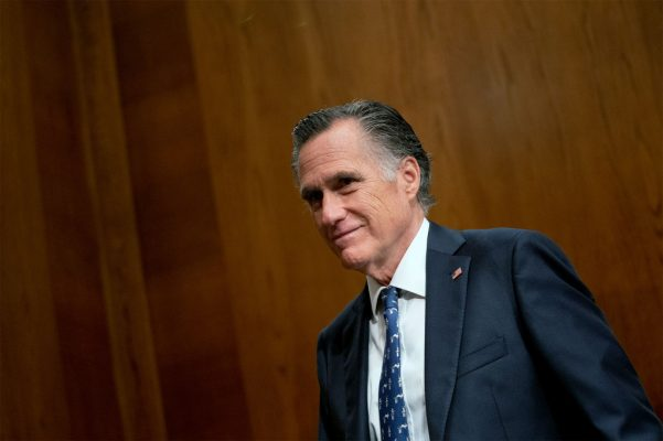 """Sen. Mitt Romney claimed that lawmakers still have """"work to do"""" on the infrastructure bill"""