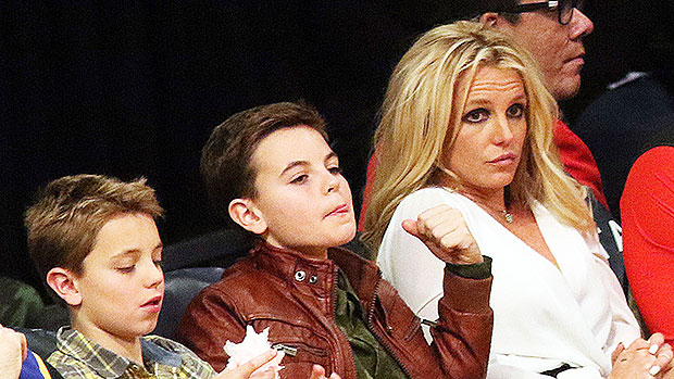 Britney Spears' Sons Jayden 15 & Sean16 Are So Grown Up In Rare New